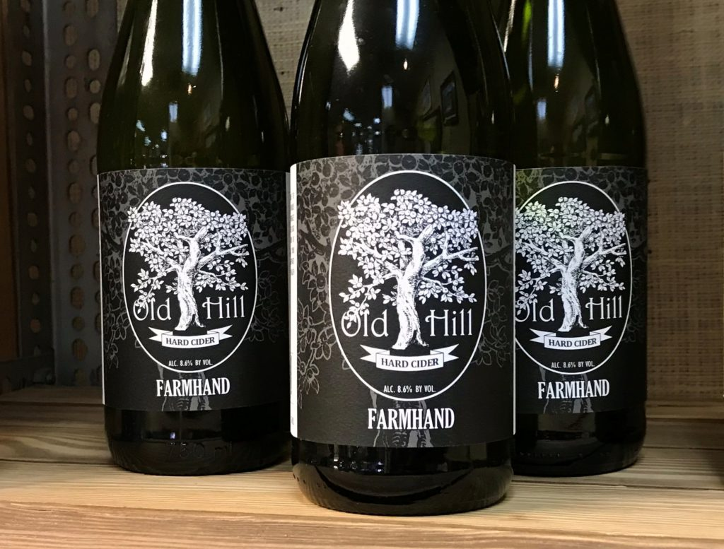 """Farmhand"" Hard Cider from Old Hill Cider at The Virginia Farmhouse"
