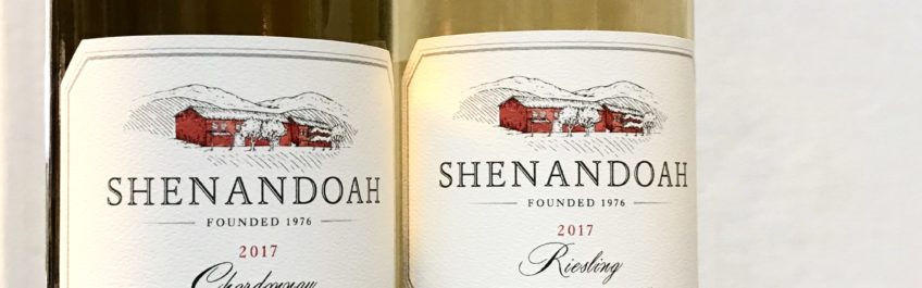 Two wines from Shenandoah Vineyards that are available at The Virginia Farmhouse