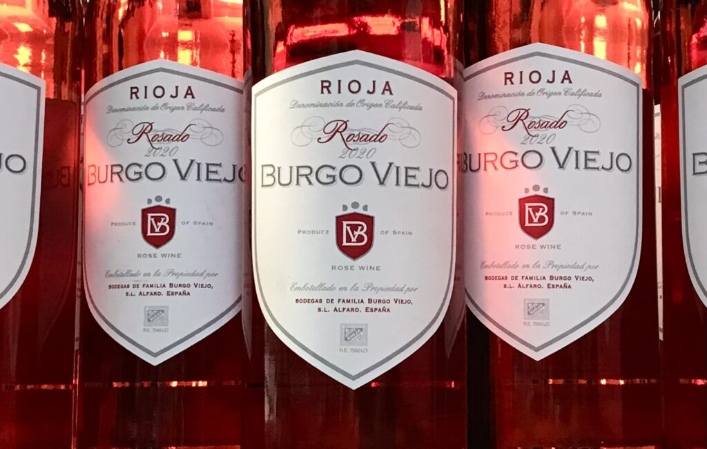 Bottles of Rosado from Burgo Viejo available for sale at The Virginia Farmhouse